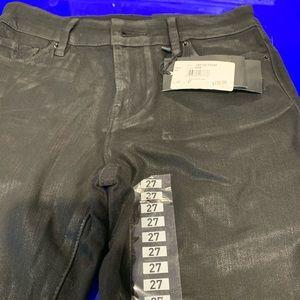 Armani Exchange ladies slim jean size 27 black